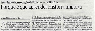Porque é que aprender História importa