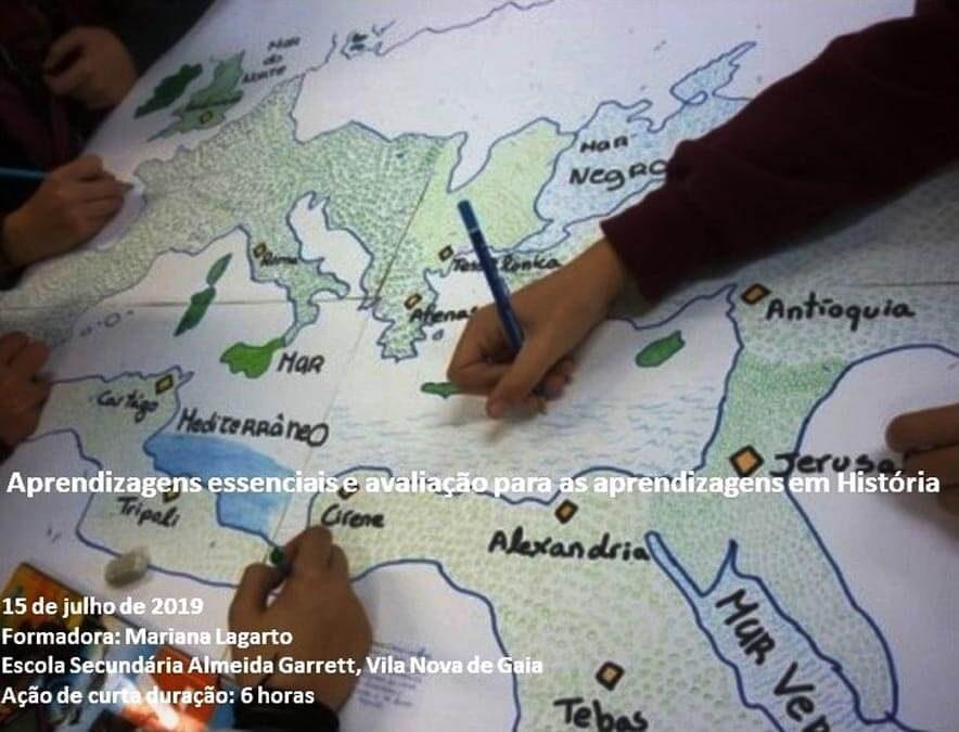 Aprendizagens essenciais e avaliação para as aprendizagens em História