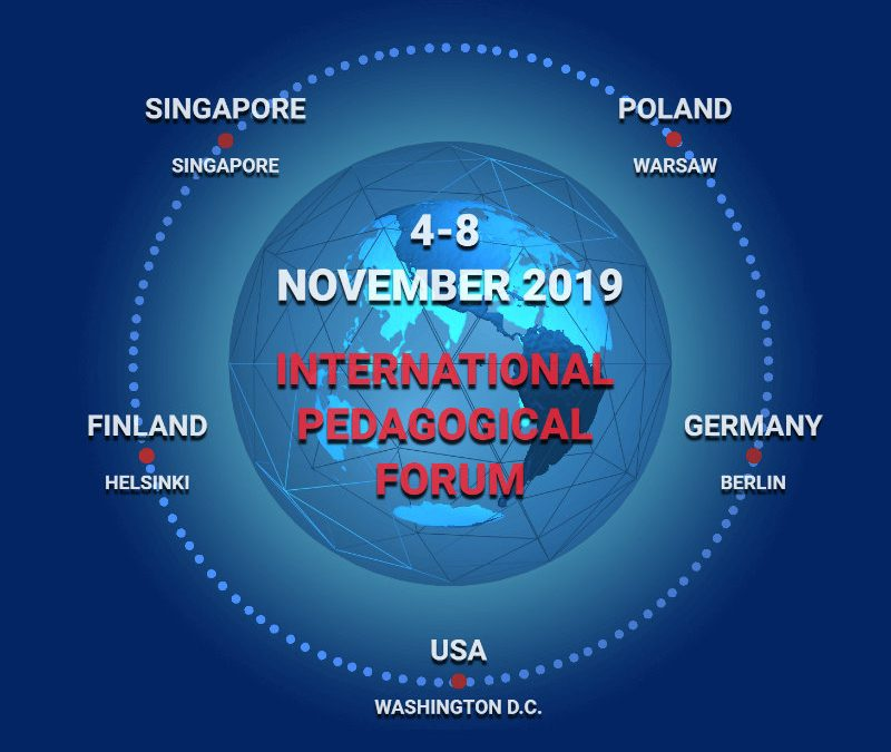 Internacional Pedagogical Forum –  novembro de 2020