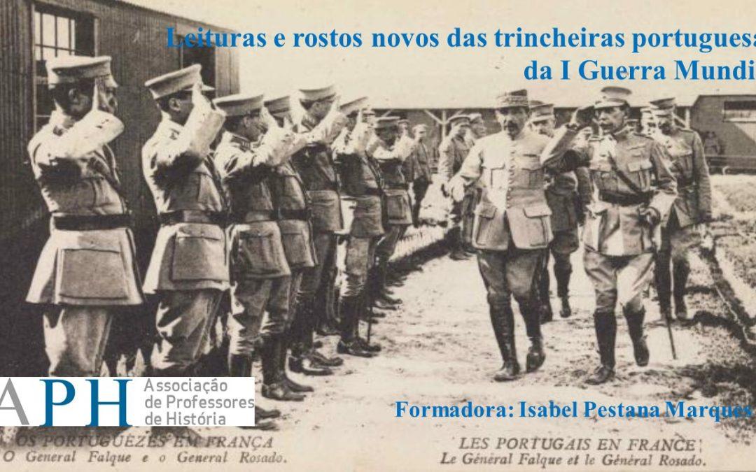 Leituras e rostos novos das trincheiras portuguesas da I Guerra Mundial