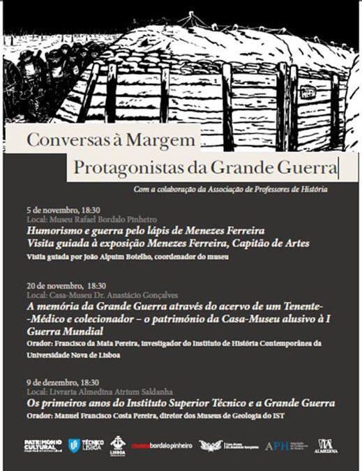 Conversas à Margem – Protagonistas da Grande Guerra